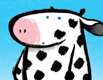 Children's Book Character Design and Visual - Dolly Moo