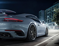 Porsche Turbo S - CGI & Photograph & Retouching