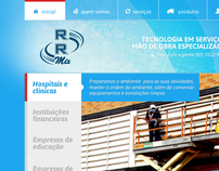 RRMIX - Layout do site