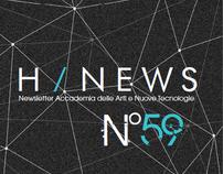 Newsletter Accademia delle Arti e Nuove Tecnologie