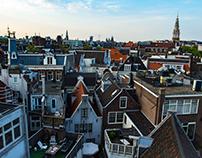 Above Amsterdam