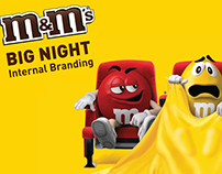M&M'S INTERNAL BRANDING