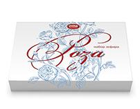 """Дизайн упаковки набора зефира """"Роза"""""""