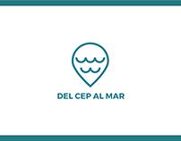 """Flyer recorrido """"Del cep al mar"""""""