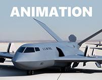 VTOL Stealth Transport - Animation