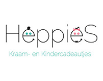 Logo & Huisstijl Heppies Kraam- en Kindercadeautjes