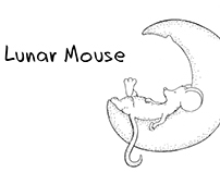 Lunar Mouse - Cute Mouse Animation from Inktober 2017