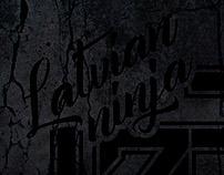 Latvian Ninja logo