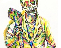 gangster zombie