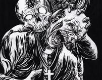 bitten by zombie