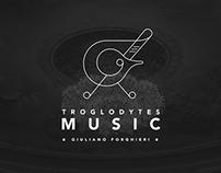 Troglodytes Music logo and Web Design