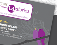 14 Stories Event Invitation