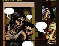 Doña Herminia Guión y Dibujos