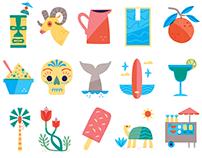 SoCal Icons