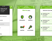 Sifarma.Safety - app webdesign