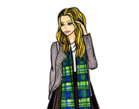 Preppy Plaid Punk