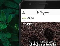 Social media - Hojas Verdes
