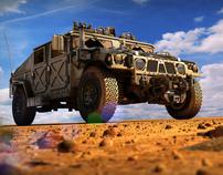 Custom Humvee
