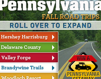 Pennsylvania Fall Road Trips CEO Ads
