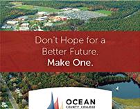 Ocean County College Online Landing Page