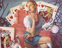 Fran Recacha paintings