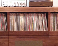 CUSTOM RECORD / STEREO CABINET
