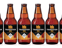 KEXP Transistor IPA Beer Packaging