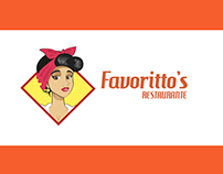 Favoritto's Restaurante - Identidade Visual