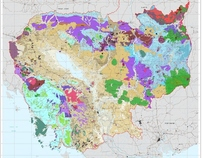 Russian Geological Map of Cambodia