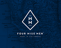 FOUR WISE MEN - Brand Identity