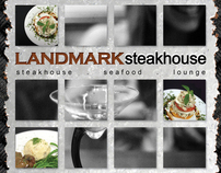 Landmark Steakhouse ad in 944 Magazine