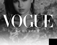 VOGUE Redesign - Web Page