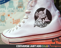 Converse / just add color