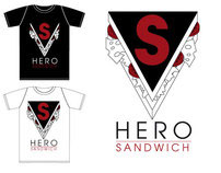 Hero Sandwich Logo Design