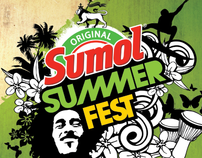 SUMOL SUMMER FEST 2012 - proposta de imagem