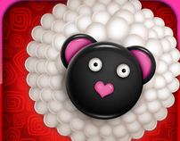 """Cake Pop Party"" IPhone Game Icon"