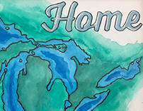 Home - Michigan Painting - Gift
