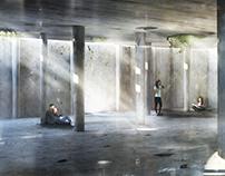 Piazza Galeno Concrete Passage