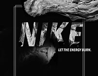Some Abstract explorations- Nike typography-