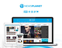 NewsPlanet - Magazine, News & Blog WordPress Theme