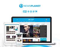NewsPlanet - Magazine, News & Blog WordPress Theme