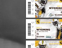 2018 Wyoming Football Season Ticket Book