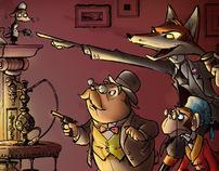 Sherlock Fox Illustration