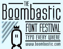 Boombastic, Typography Festival