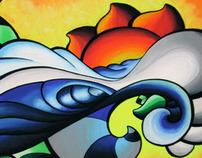 Surf Art - Canetas Posca
