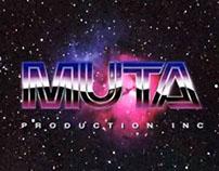 Muta 80s Retro VHS Logo