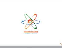 Triatomic  solution logo