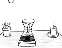 Brewing Coffee Animation