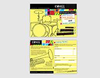 COMA Emerging Artist Poster/Brochure