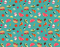 Yummy Food Pattern